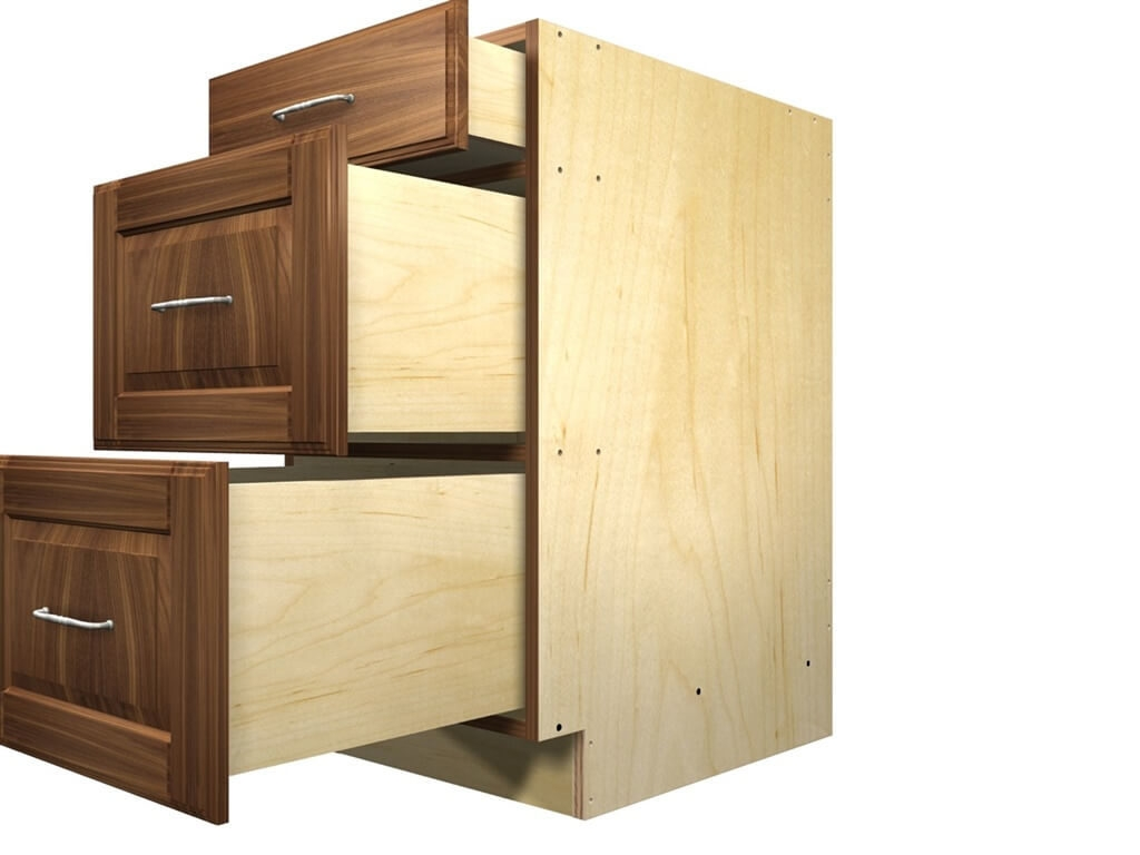 3 Drawer Kitchen Cabinet Plans
