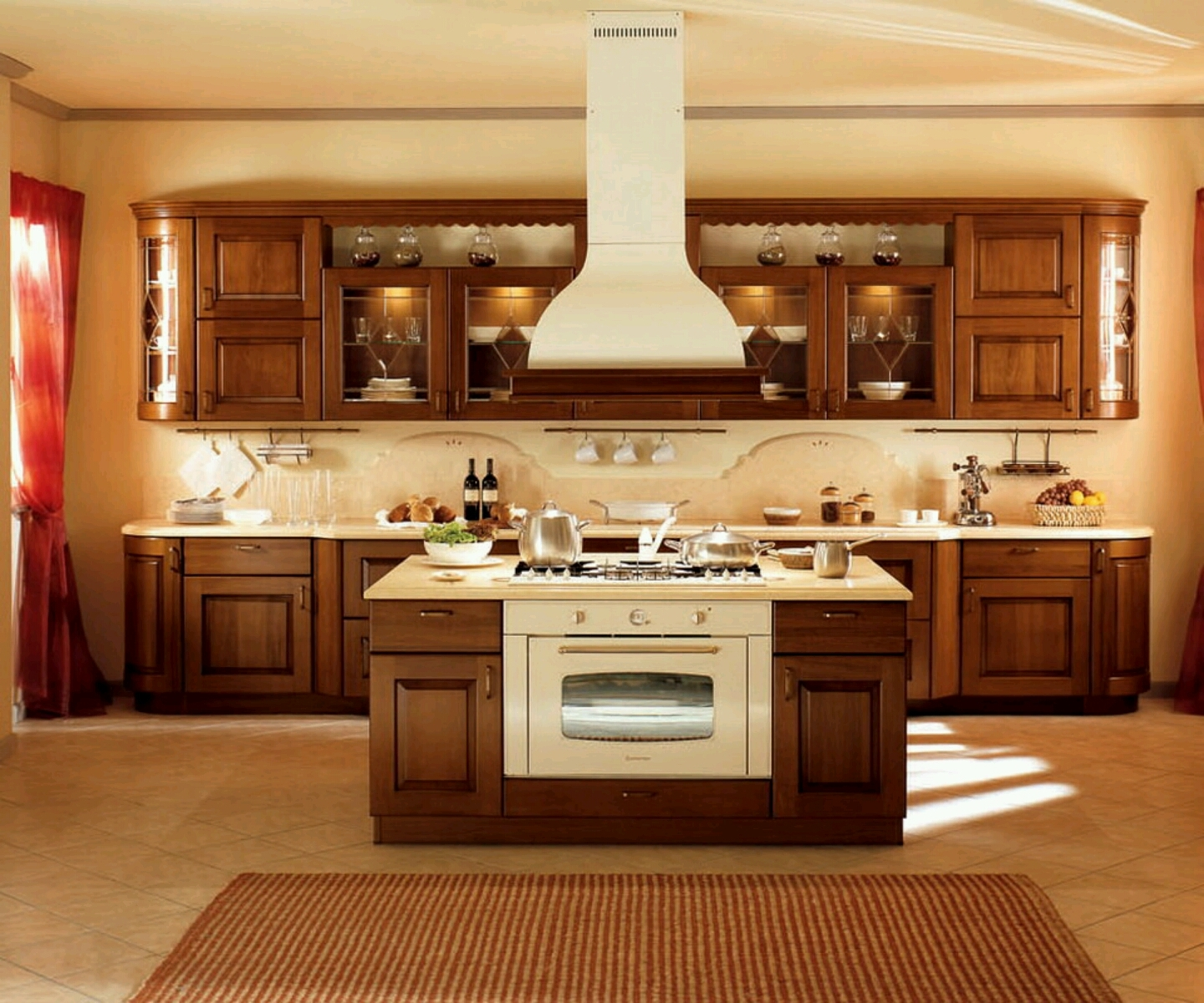 Design Top Of Kitchen Cabinets