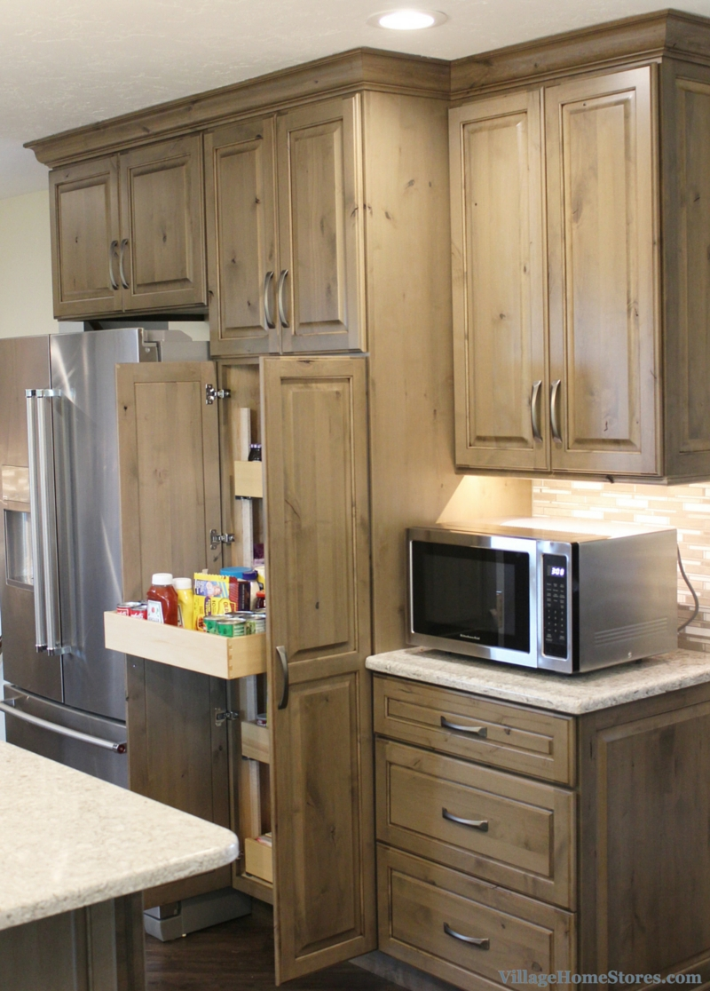 Driftwood Stained Kitchen Cabinets | Kitchen Cabinet