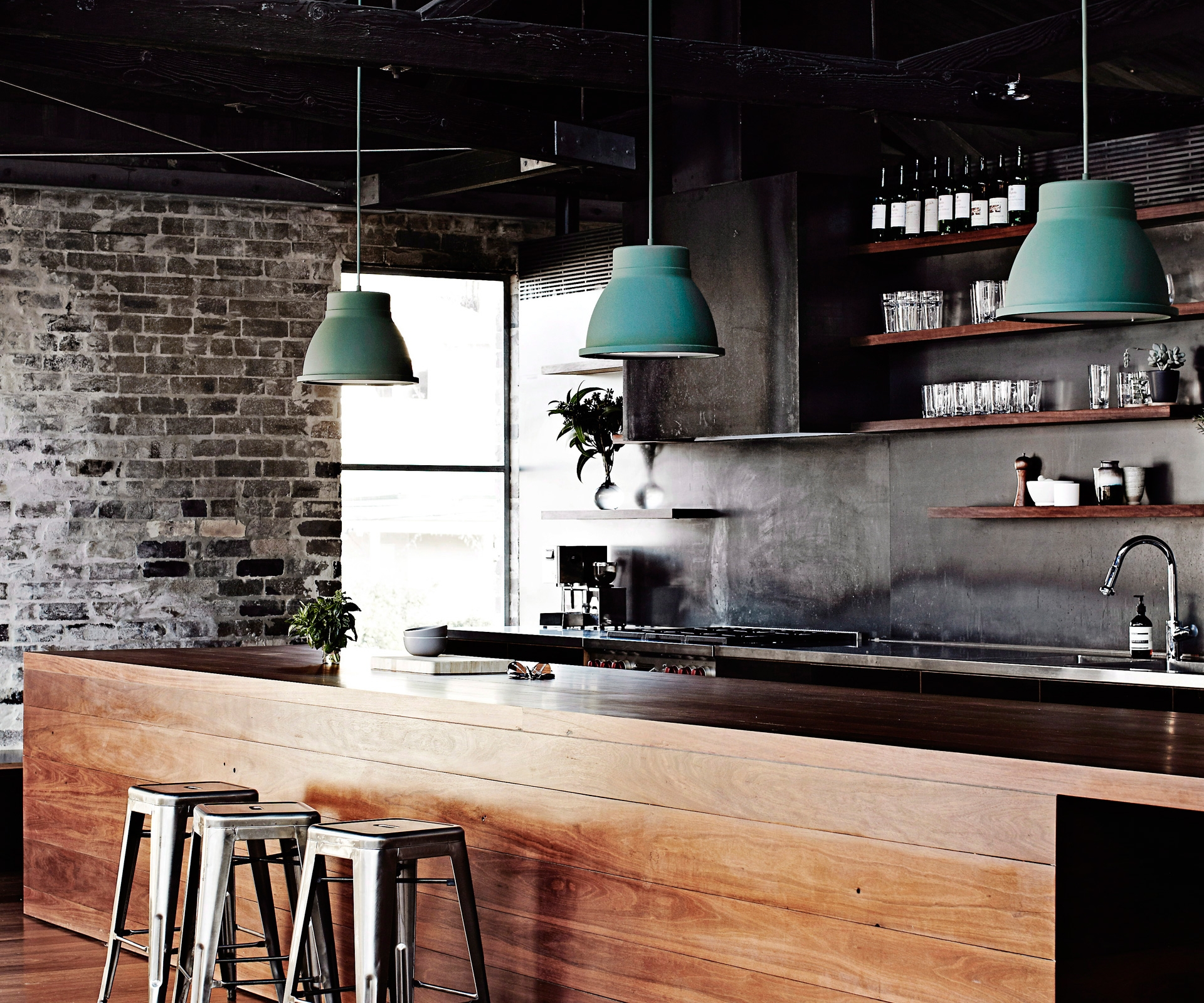 Permalink to Industrial Chic Kitchen Cabinets