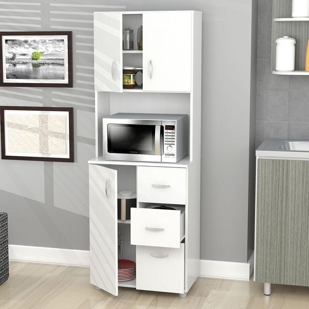 Kitchen Cabinet Microwave Stand