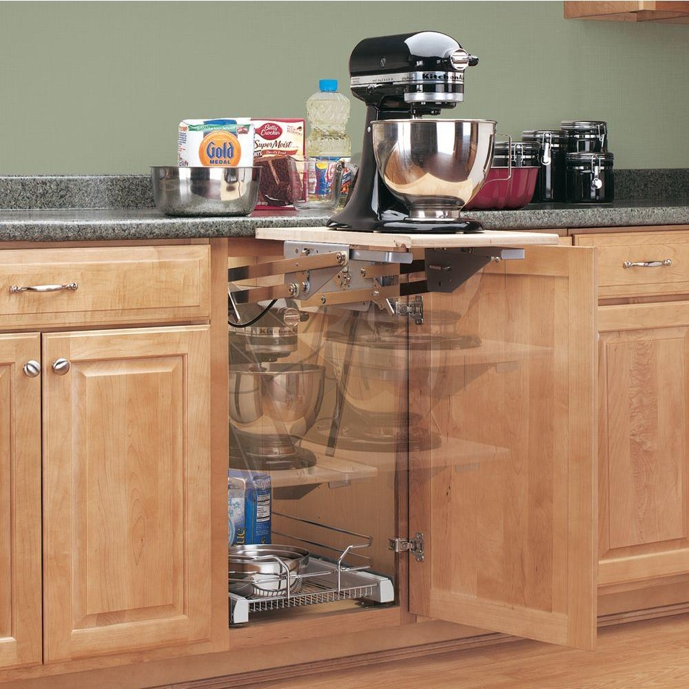 Kitchen Cabinets Appliance Lifts