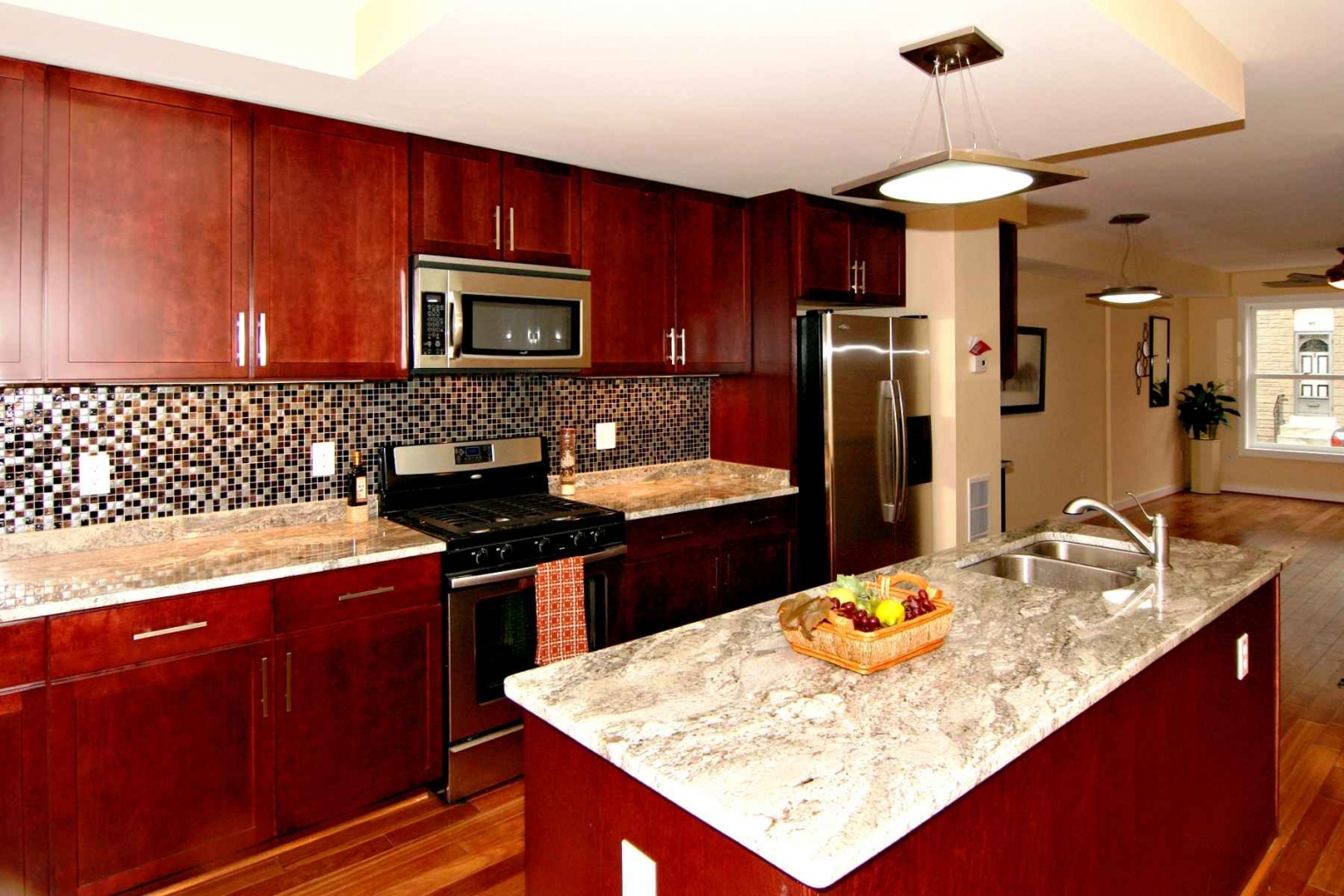 Kitchen Cabinets Cherry Color