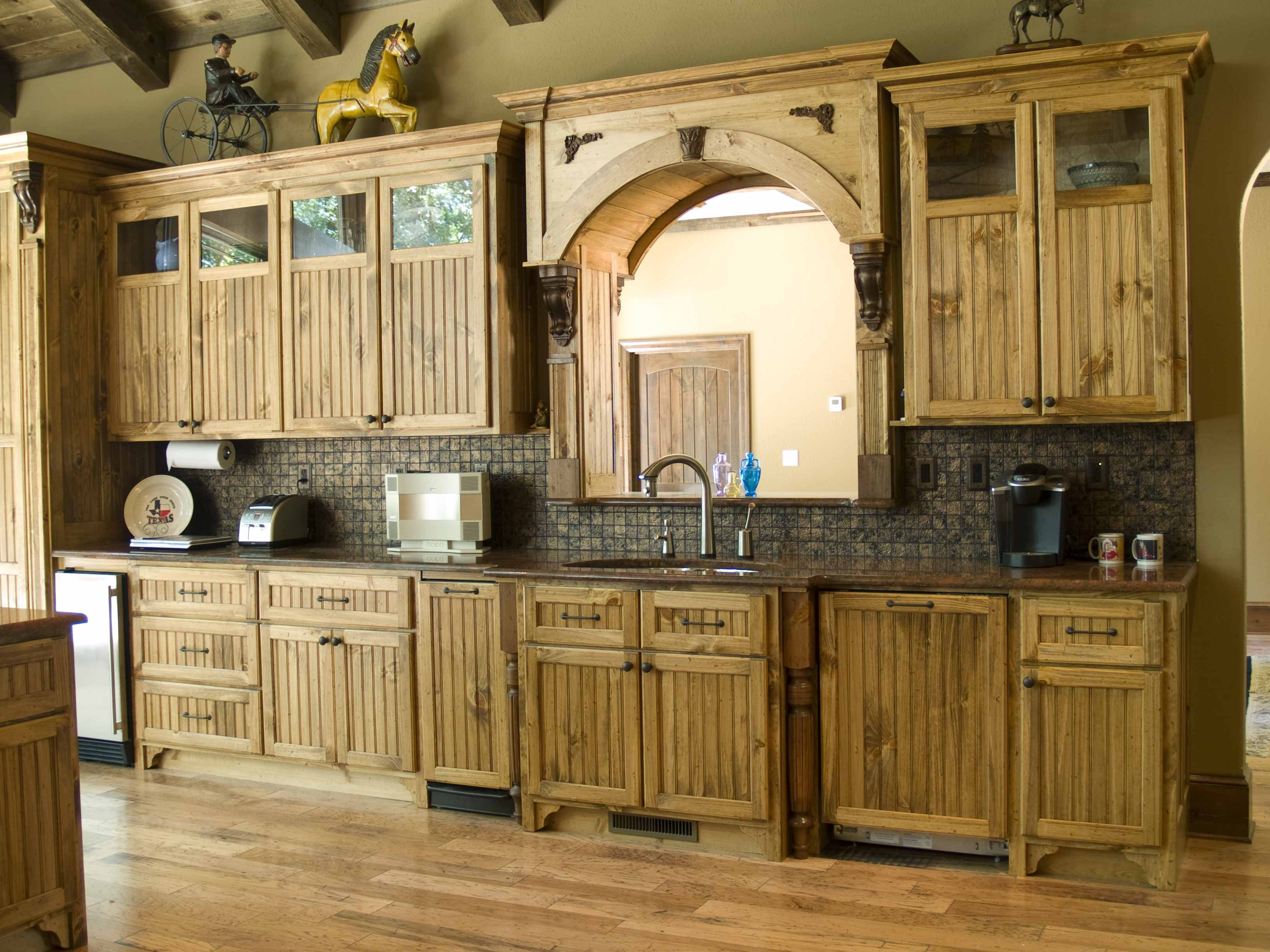 Kitchen Cabinets Rustic Look
