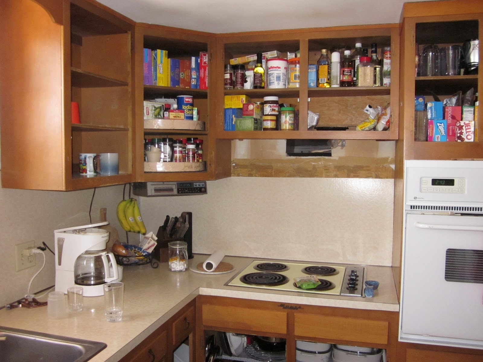 Kitchen Cabinets Without Doors Ideas