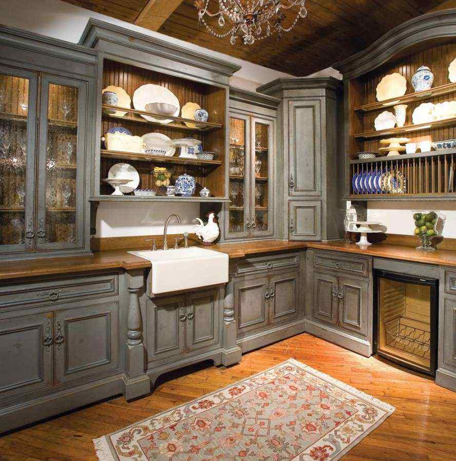 Permalink to Kitchen Corner Cabinet Hutch