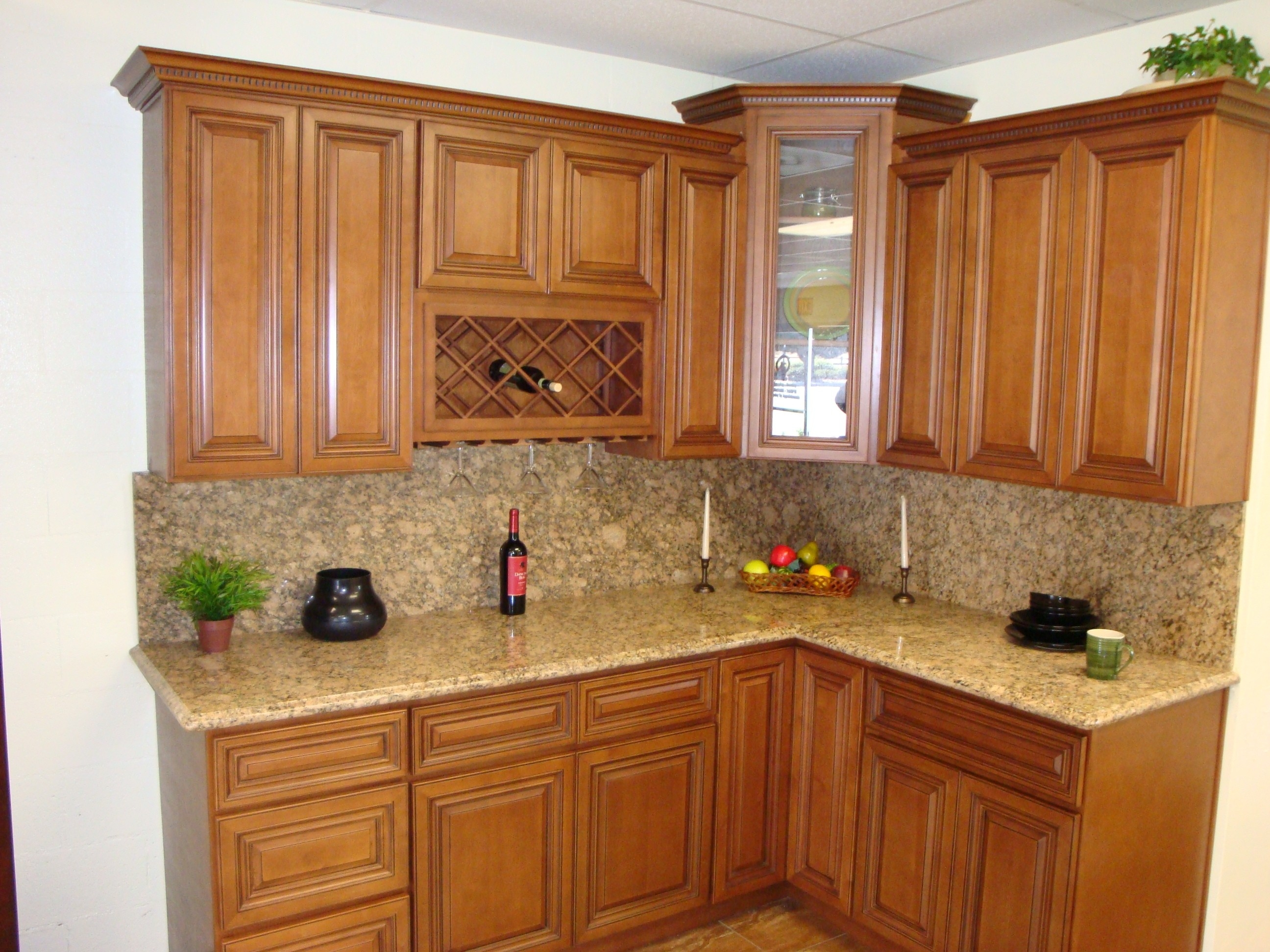 Kitchen Corner Wall Cabinet Storage