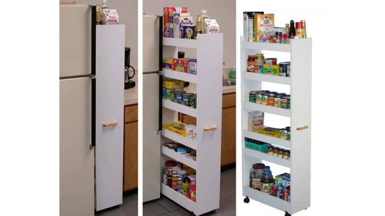 Kitchen Pull Out Cupboard Storage