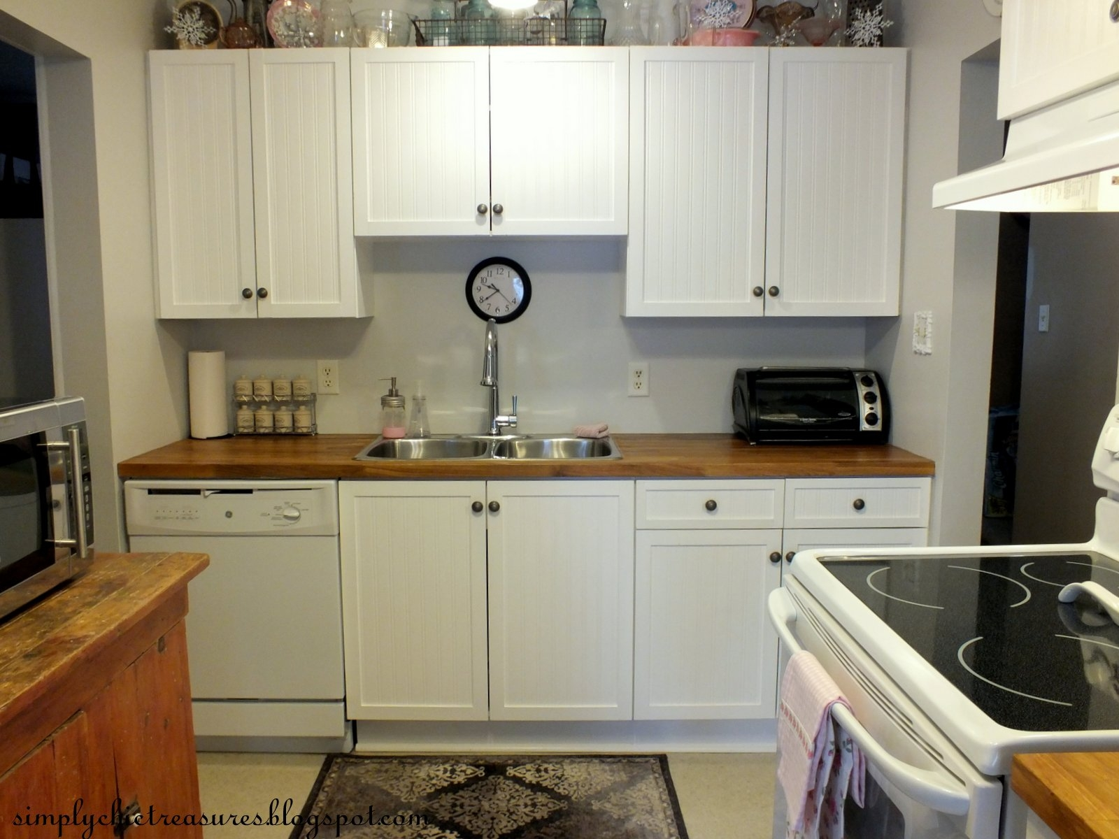 Makeover Melamine Kitchen Cabinets