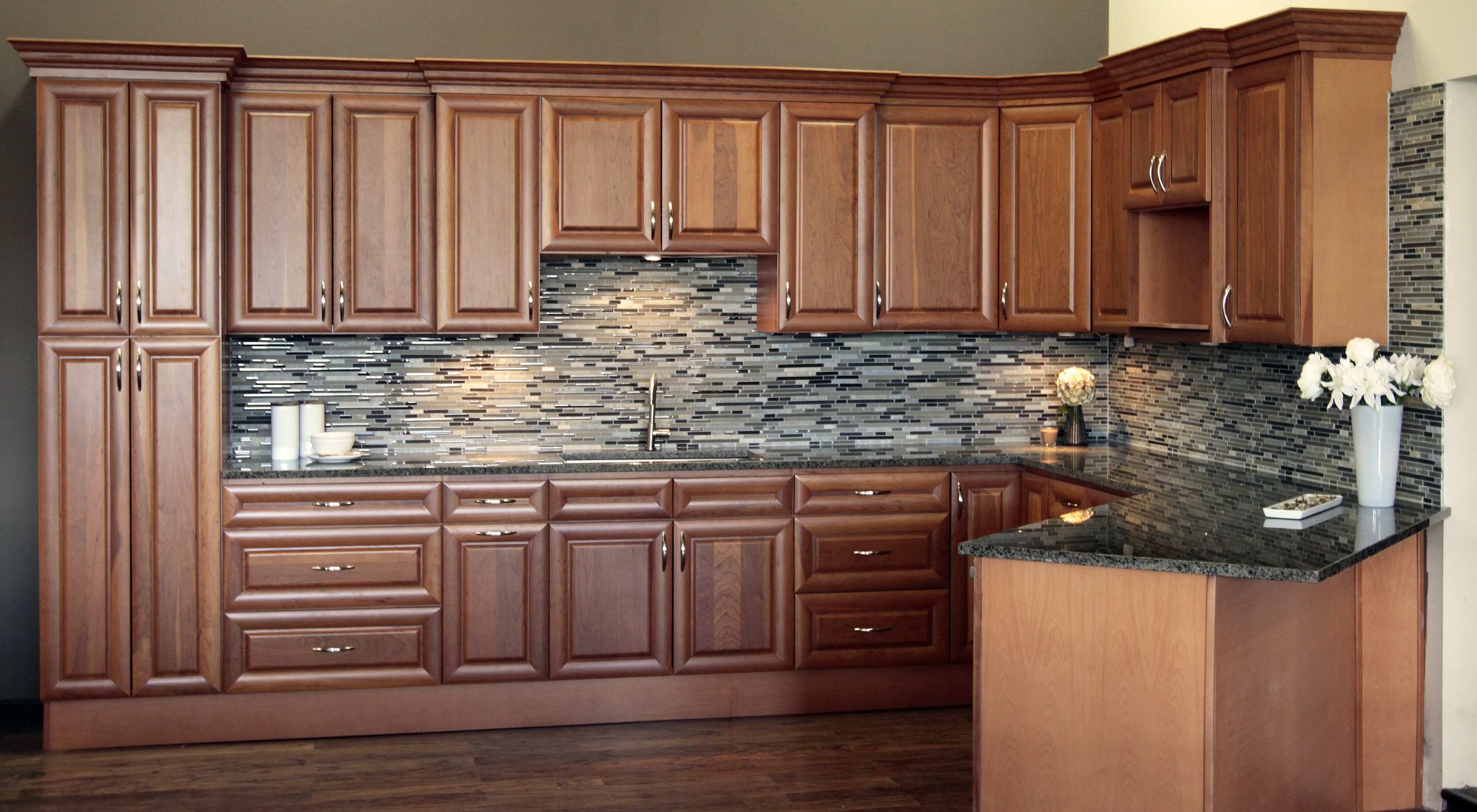 Permalink to Maple Raised Panel Kitchen Cabinets