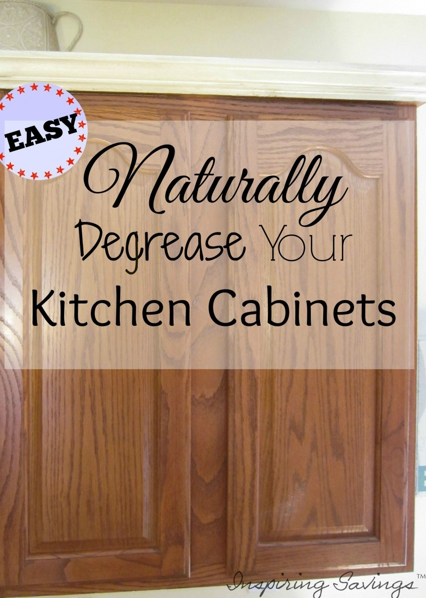 Natural Degreaser For Wood Kitchen Cabinets