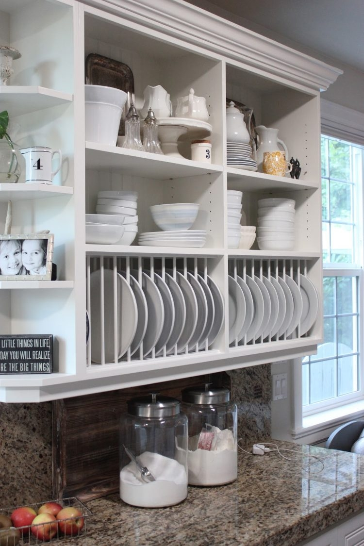 Open Shelf Kitchen Cabinets