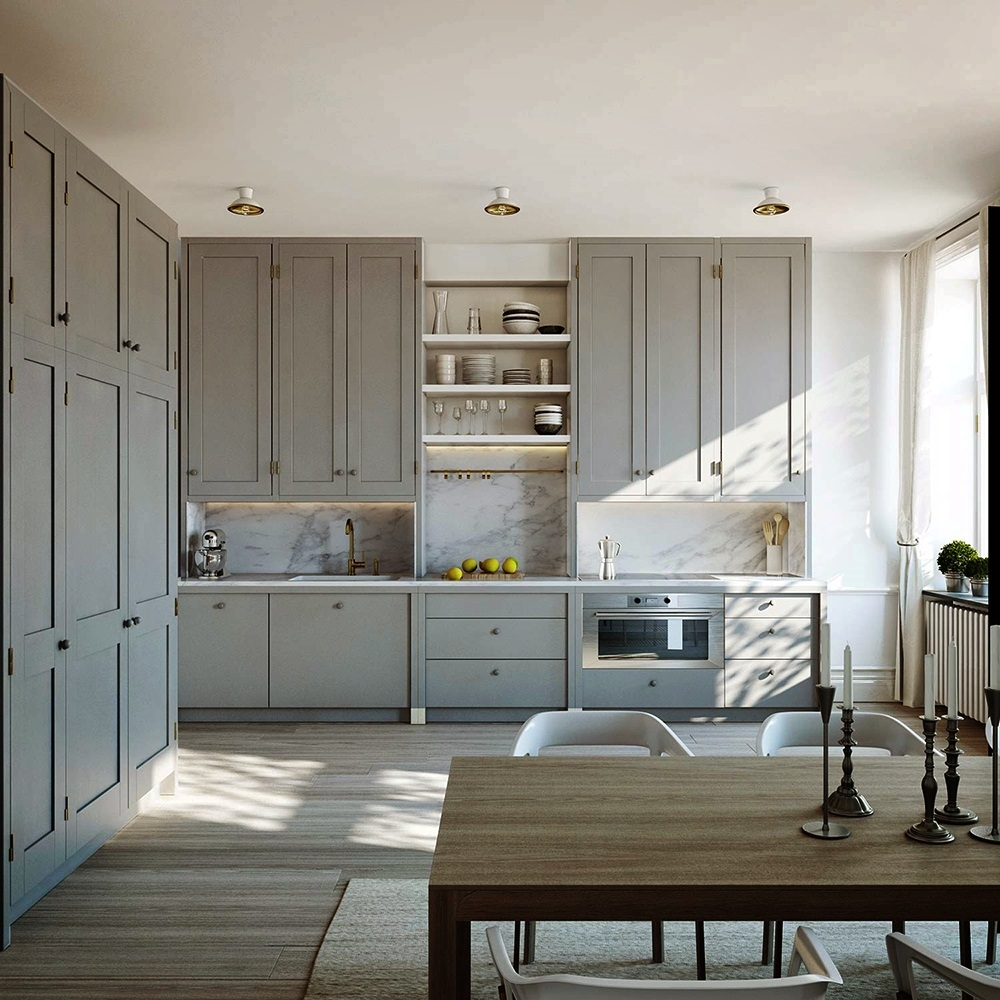 Scandinavian Style Kitchen Cabinets