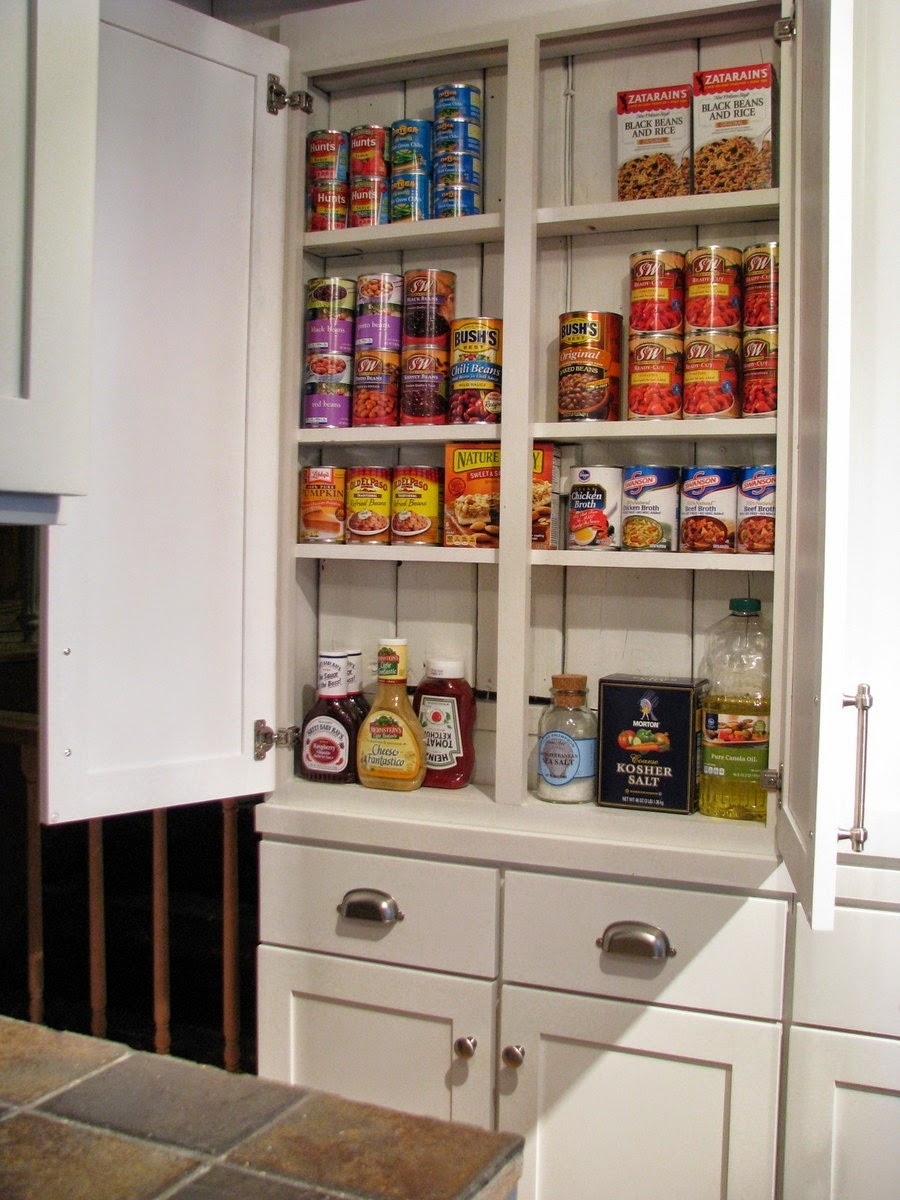Shallow Kitchen Pantry Cabinets