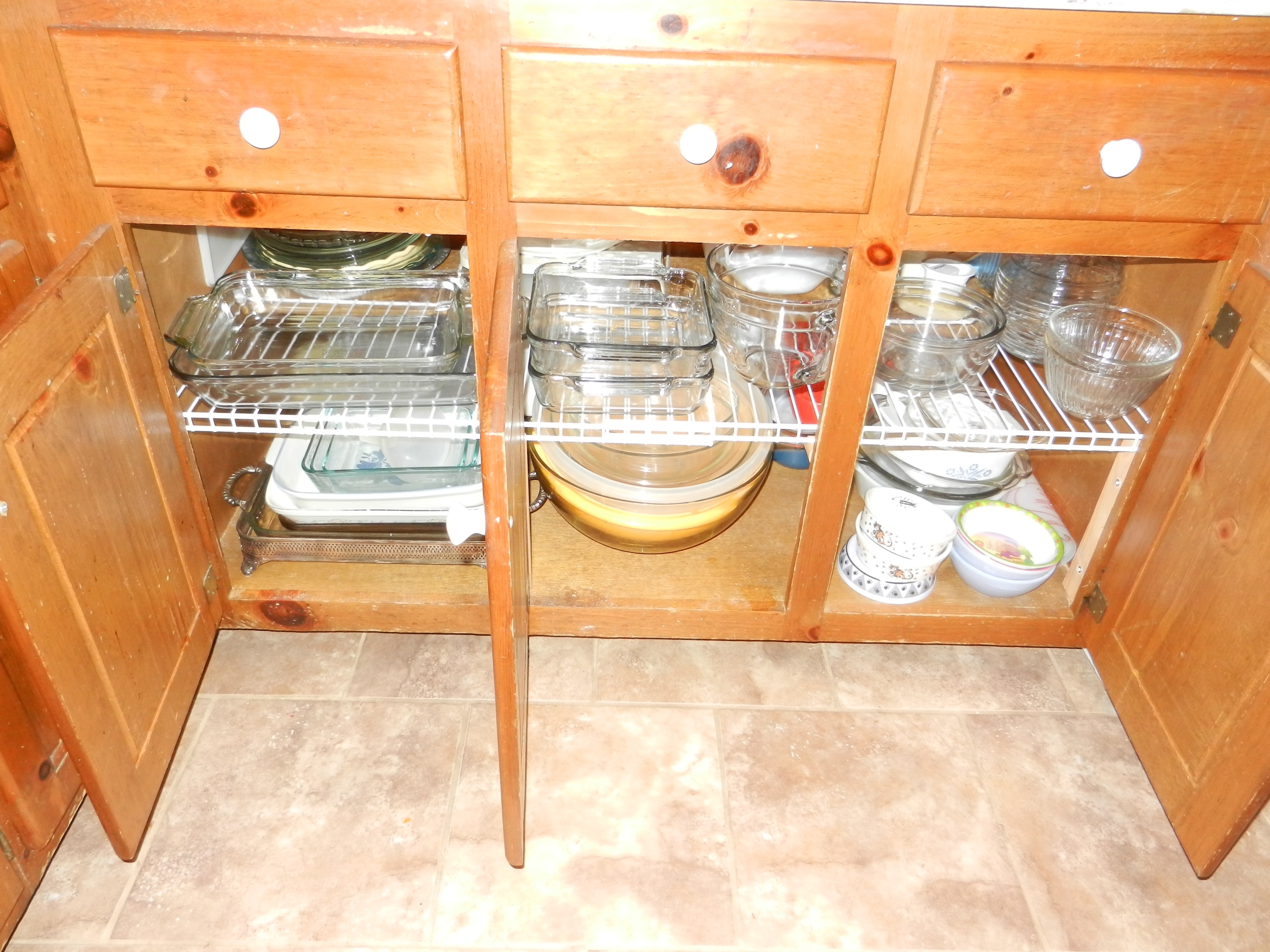 Wire Shelving For Kitchen Cabinets