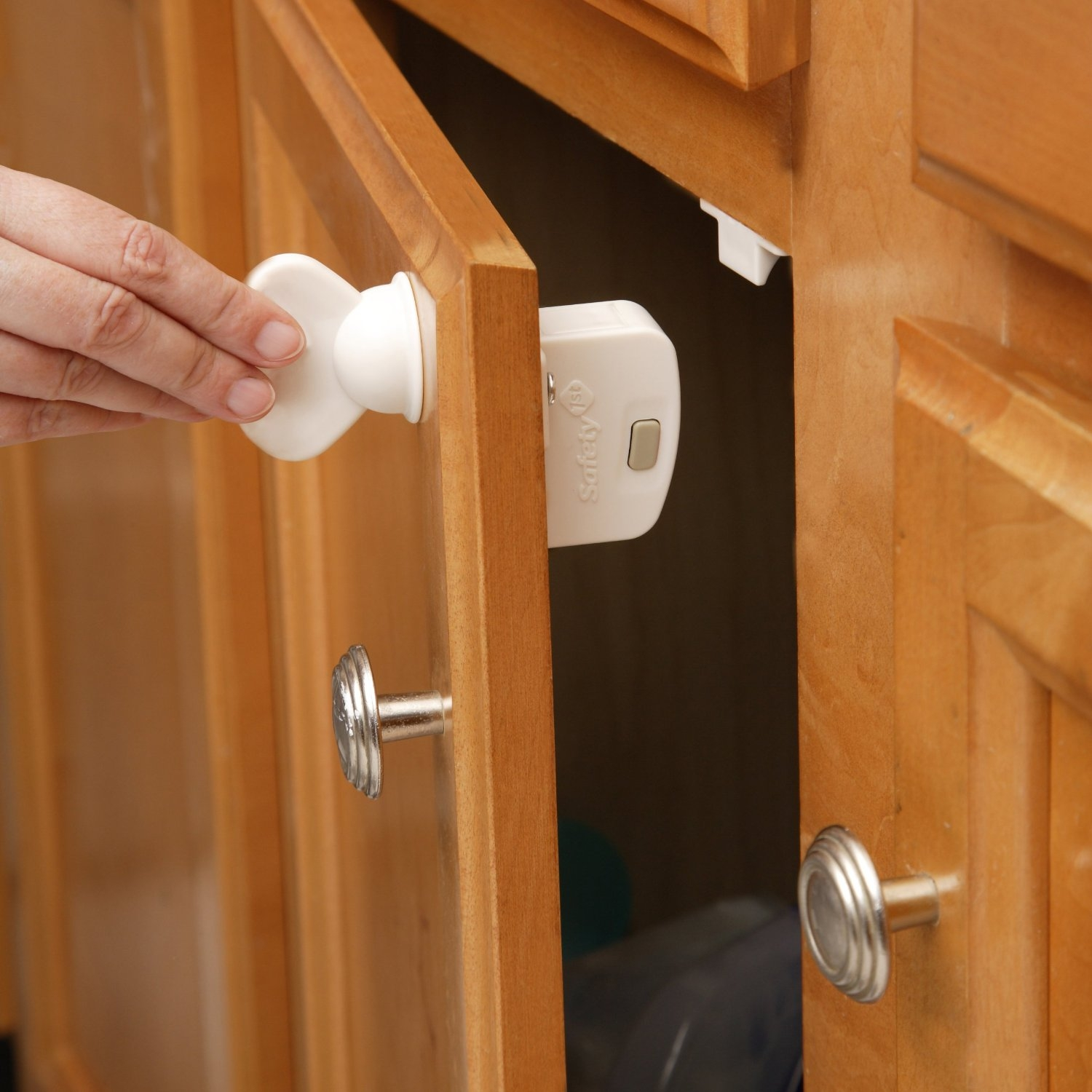 Child Proof Kitchen Cabinet Locks