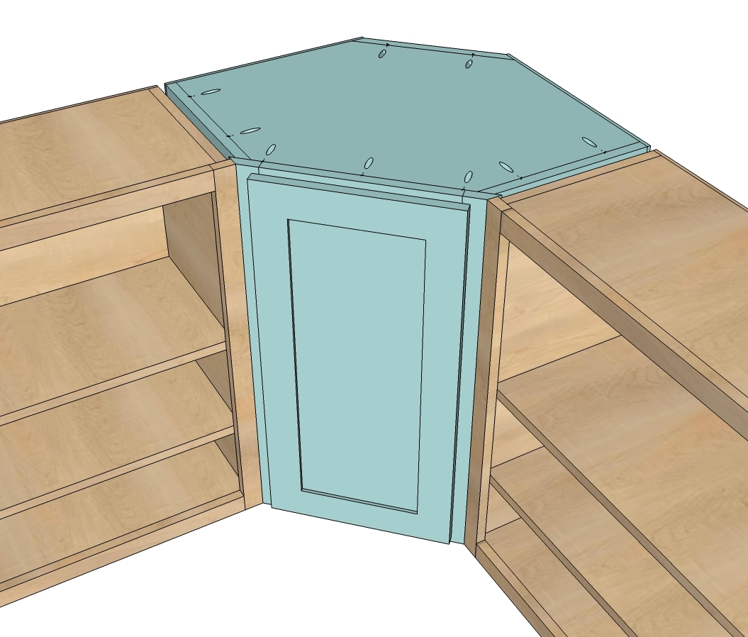 Corner Kitchen Base Cabinet Plans