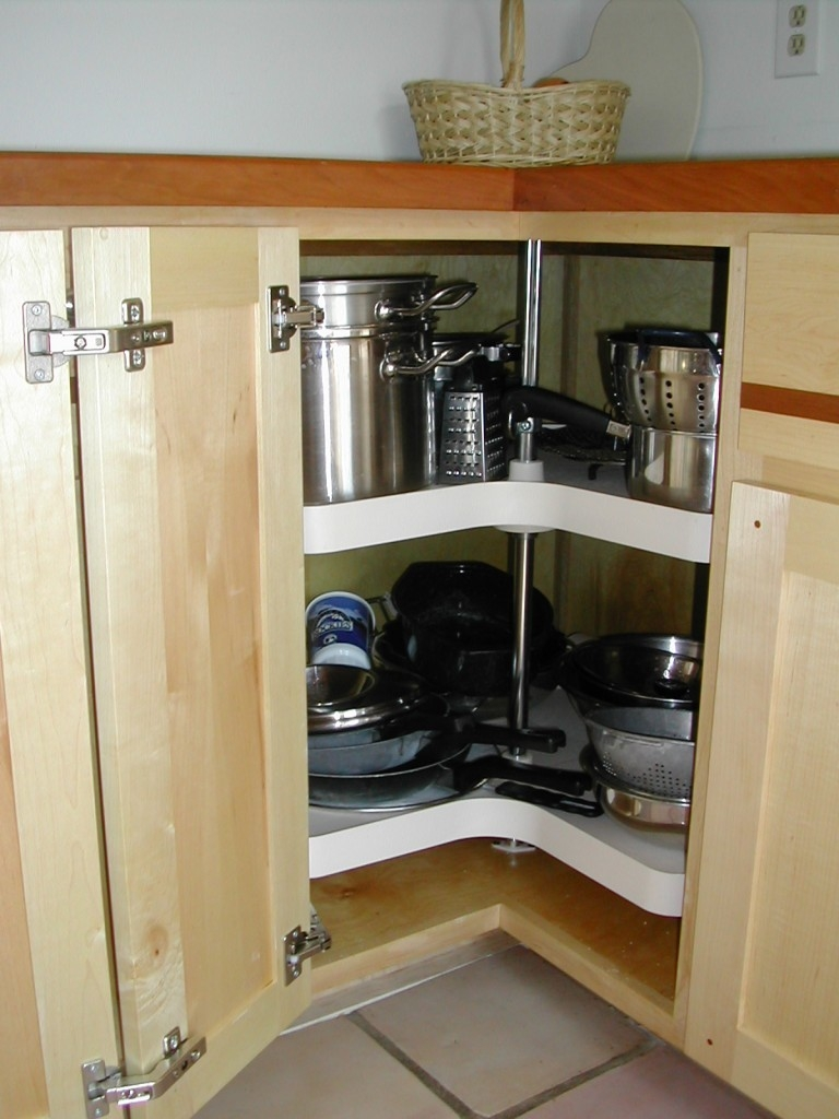 Corner Shelves Kitchen Cabinets
