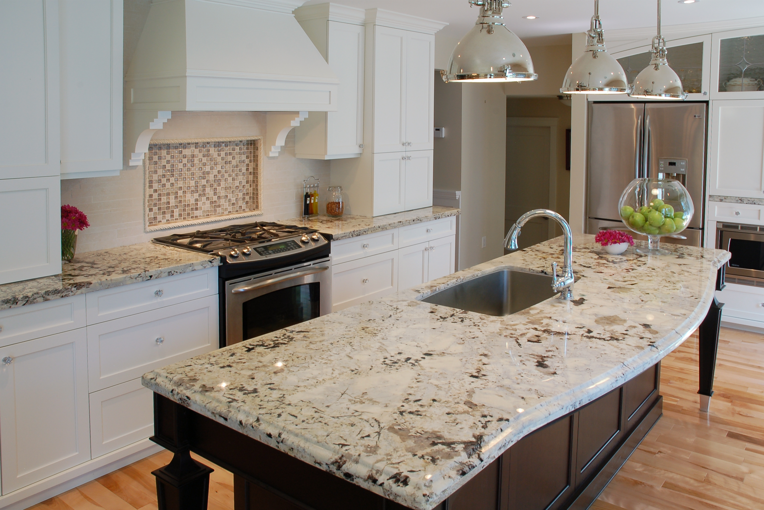 Countertop Color For White Kitchen Cabinets