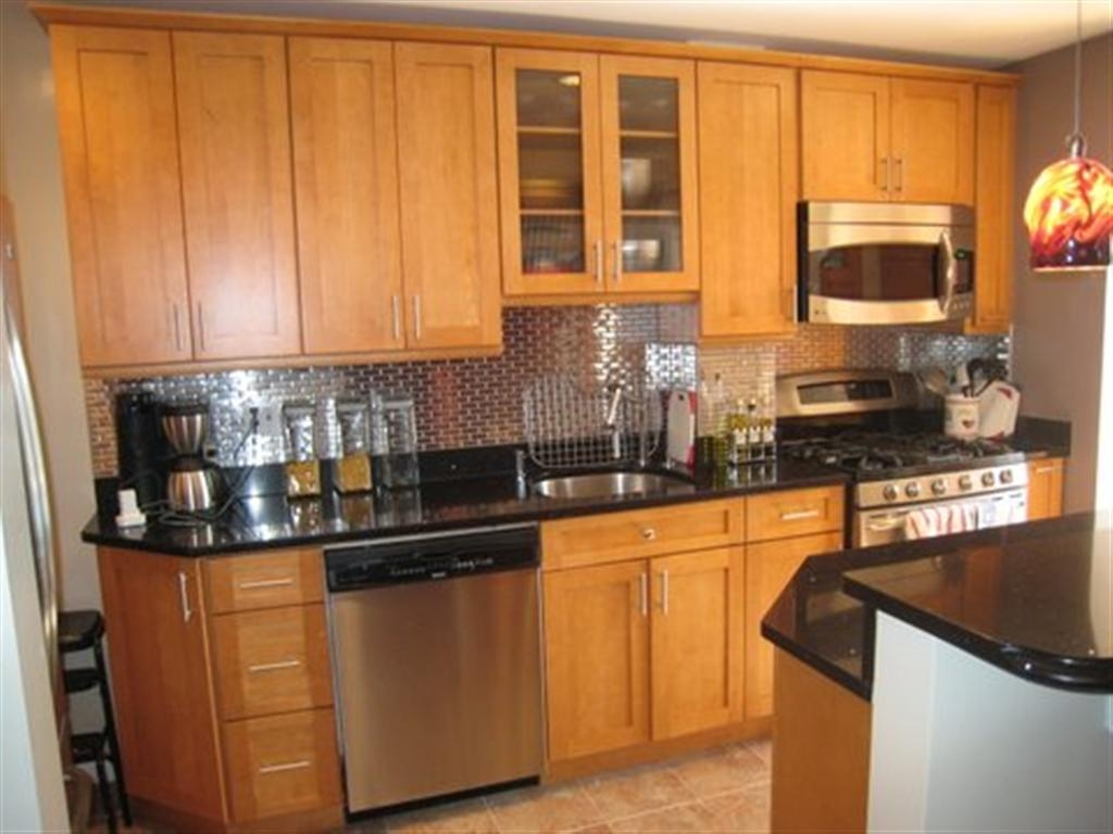 Honey Shaker Kitchen Cabinets