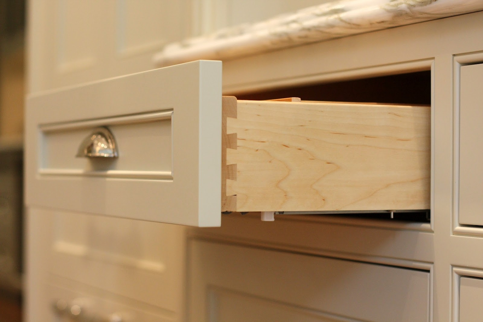 Kitchen Cabinet Door Jointskitchen drawer joints and slides the coastal cottage company