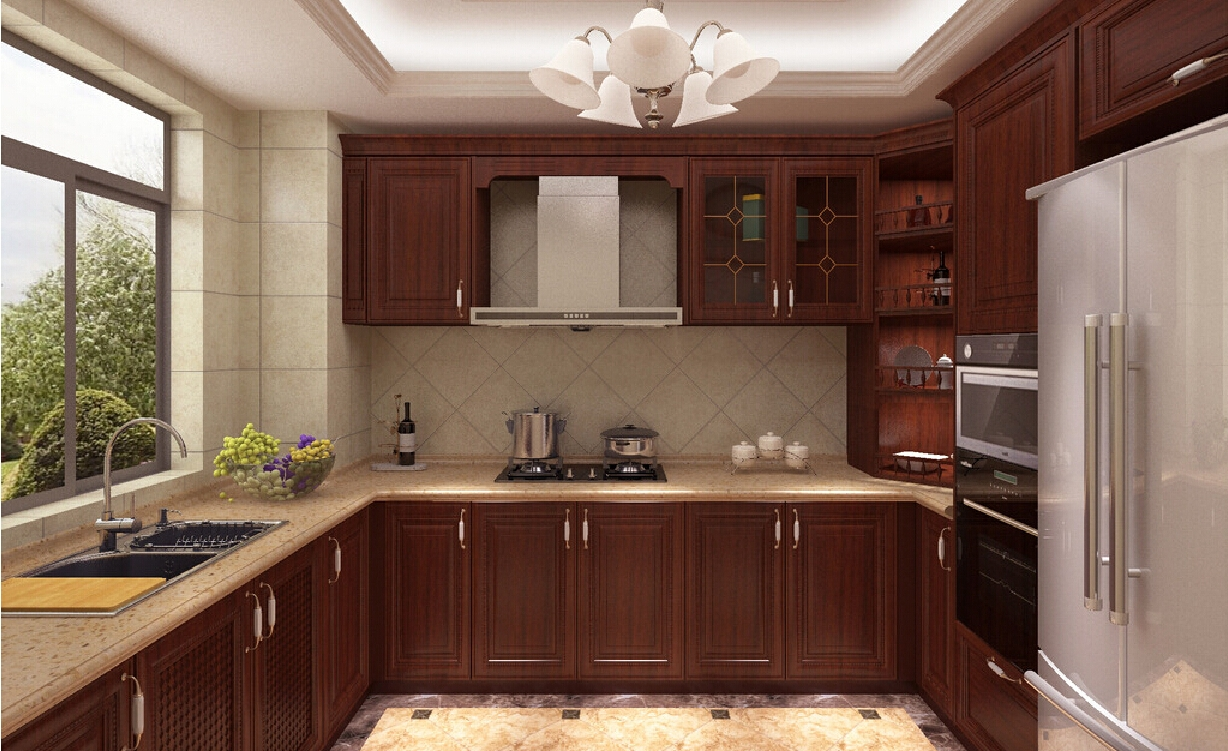 Permalink to Kitchen Cabinets Solid Wood Construction
