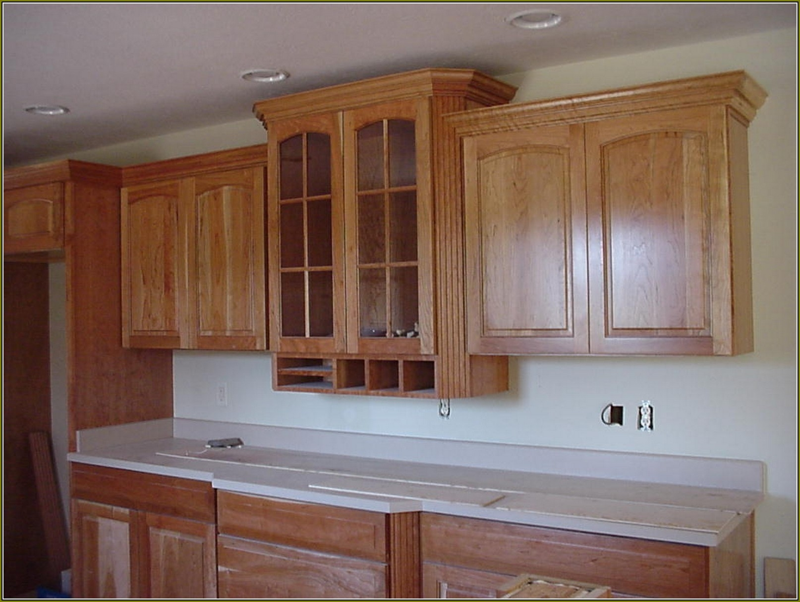 Permalink to Kitchen Cabinets With Decorative Molding