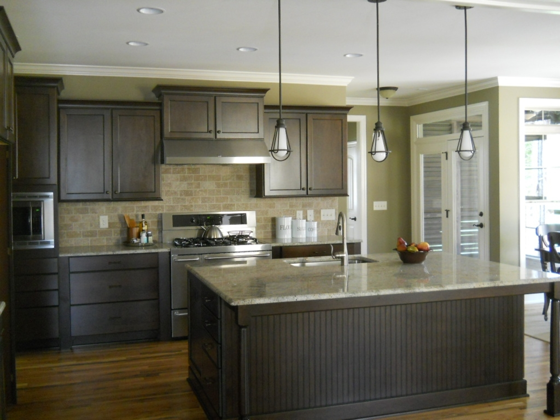 Light Grey Green Kitchen Cabinets