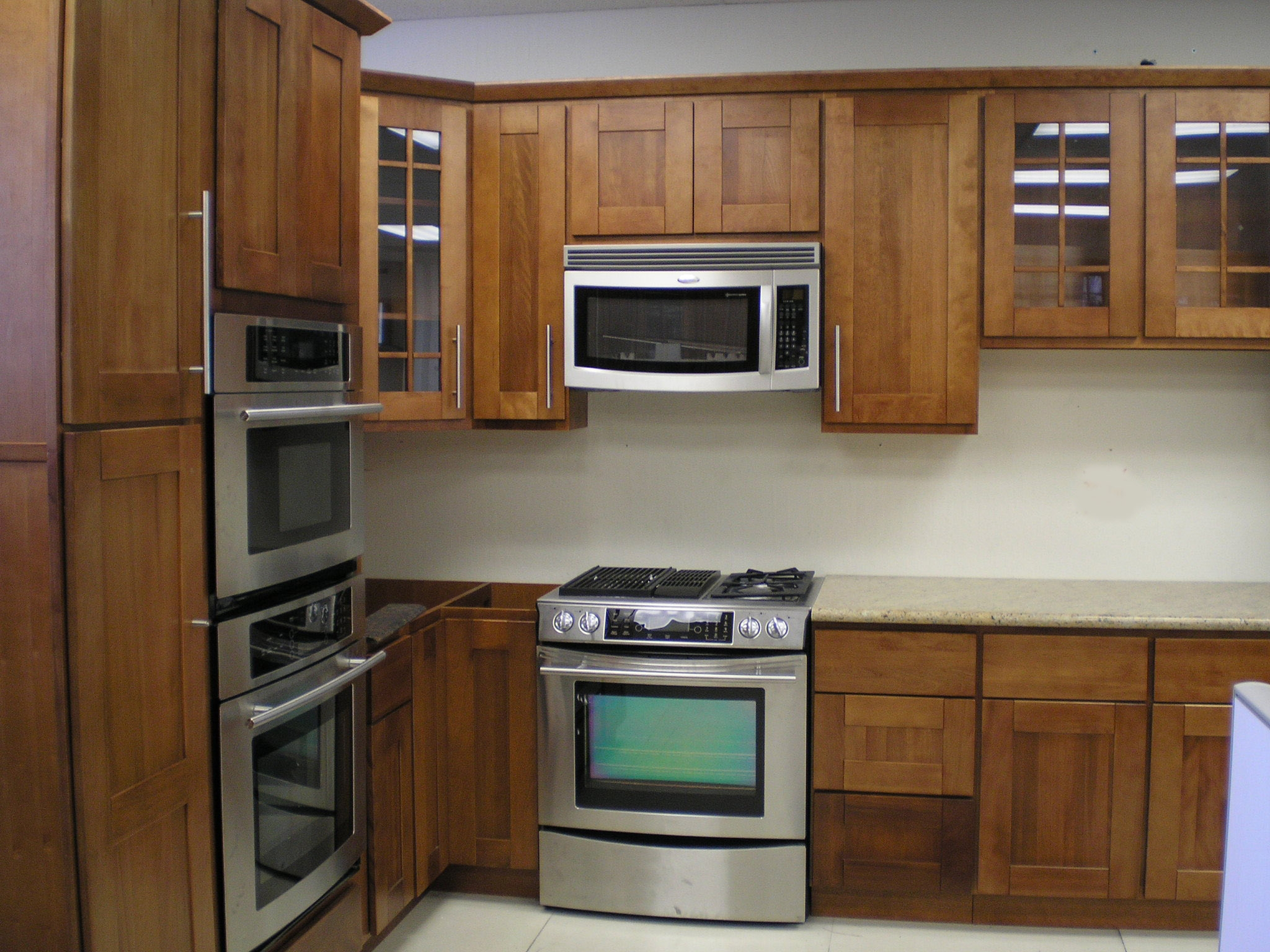 Permalink to Microwave Kitchen Cabinets Design