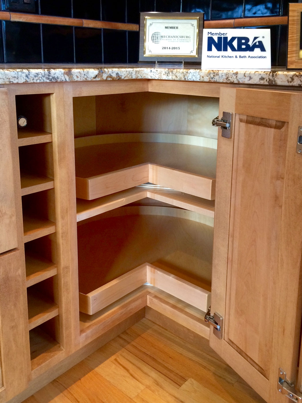 Rotating Shelves Kitchen Cabinets