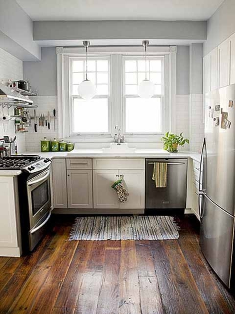 Permalink to Small Kitchen Design Ideas White Cabinets