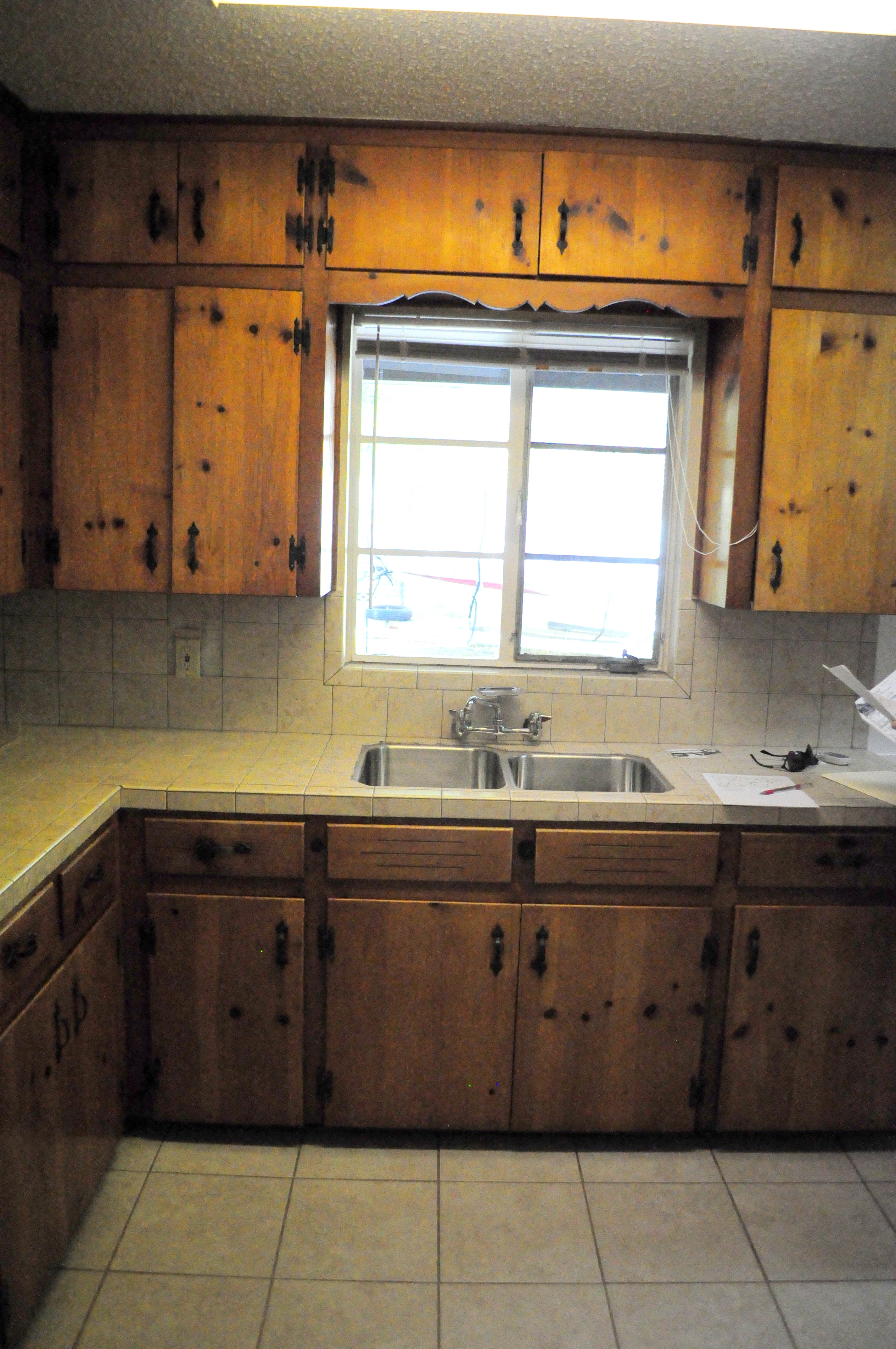 Permalink to Updating Old Pine Kitchen Cabinets