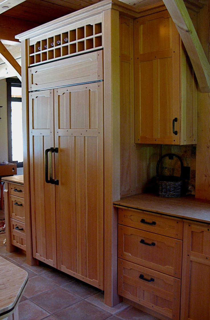 Permalink to Vertical Grain Douglas Fir Kitchen Cabinets