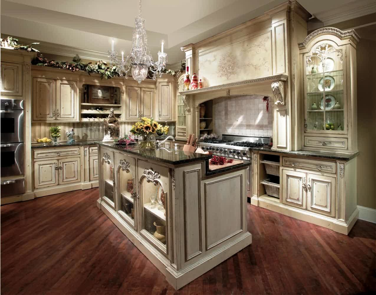 Western Looking Kitchen Cabinets