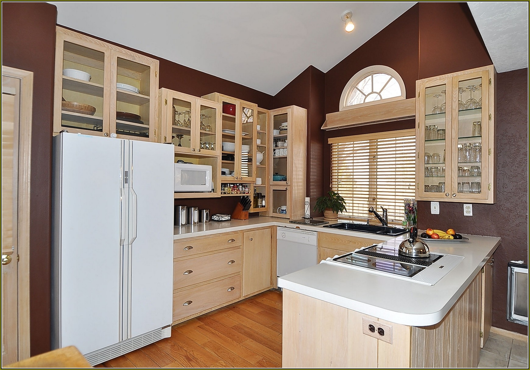 Whitewashed Kitchen Cabinets Pictures