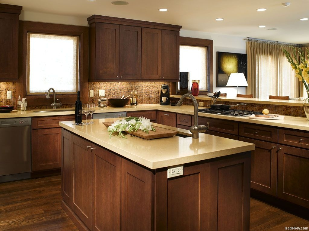Wooden Shaker Kitchen Cabinets
