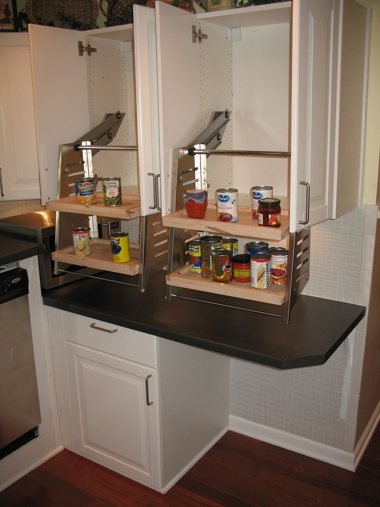 Accessible Upper Kitchen Cabinets