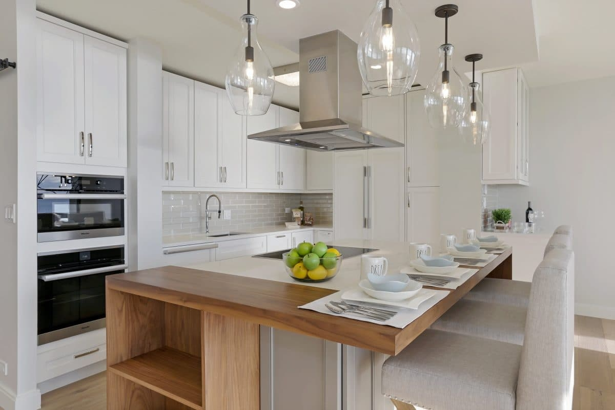 Alpine White Kitchen Cabinets