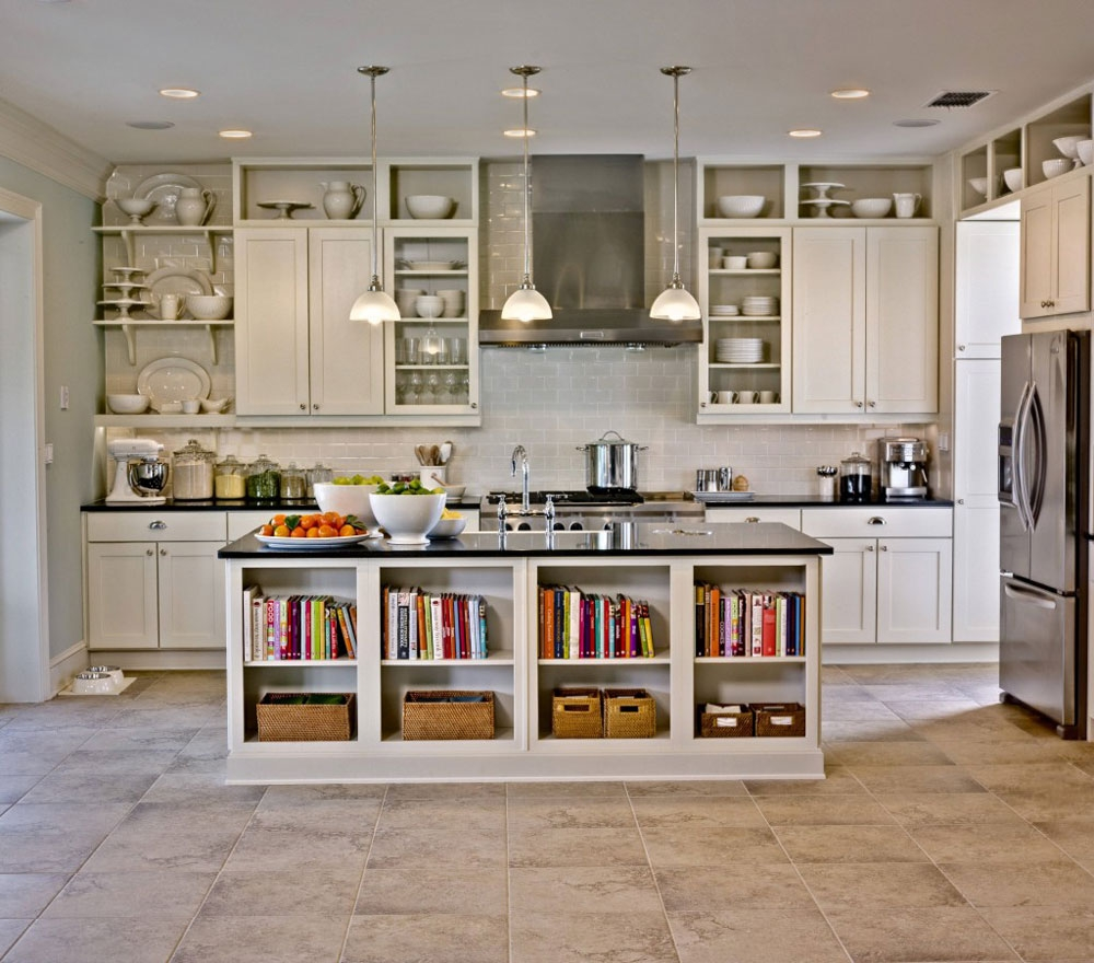 Arranging Kitchen Cabinets With Glass Doors