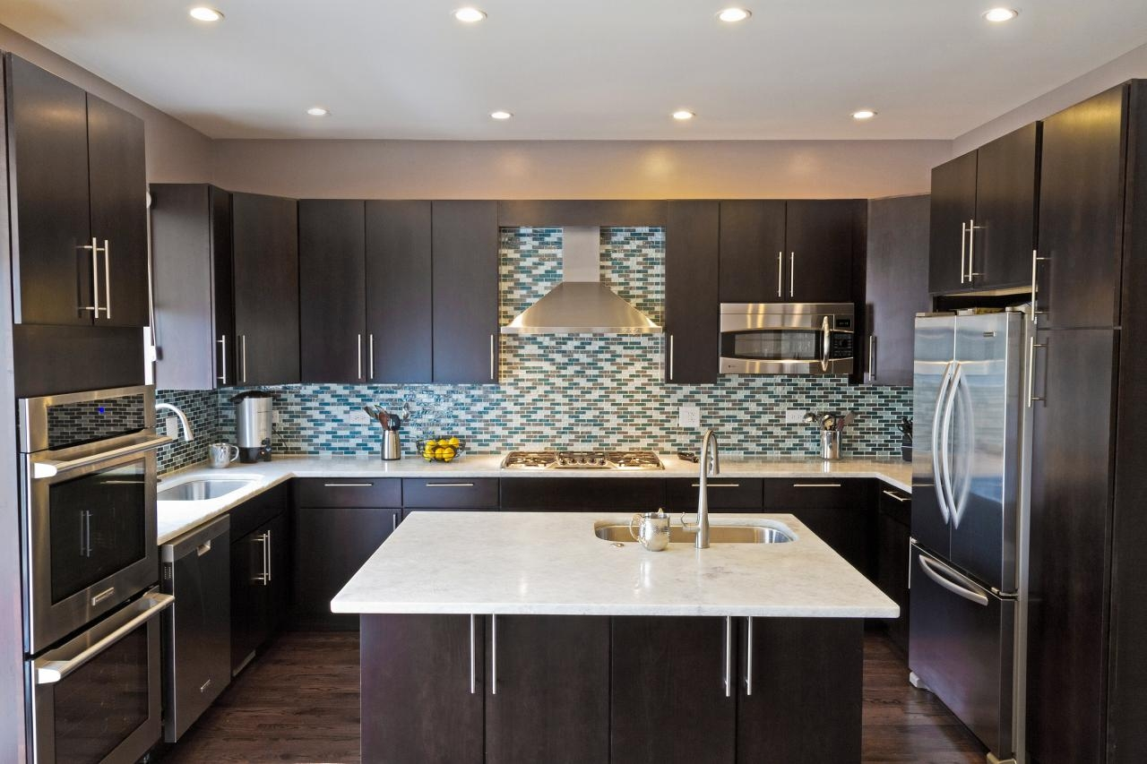 Asian Contemporary Kitchen Cabinets