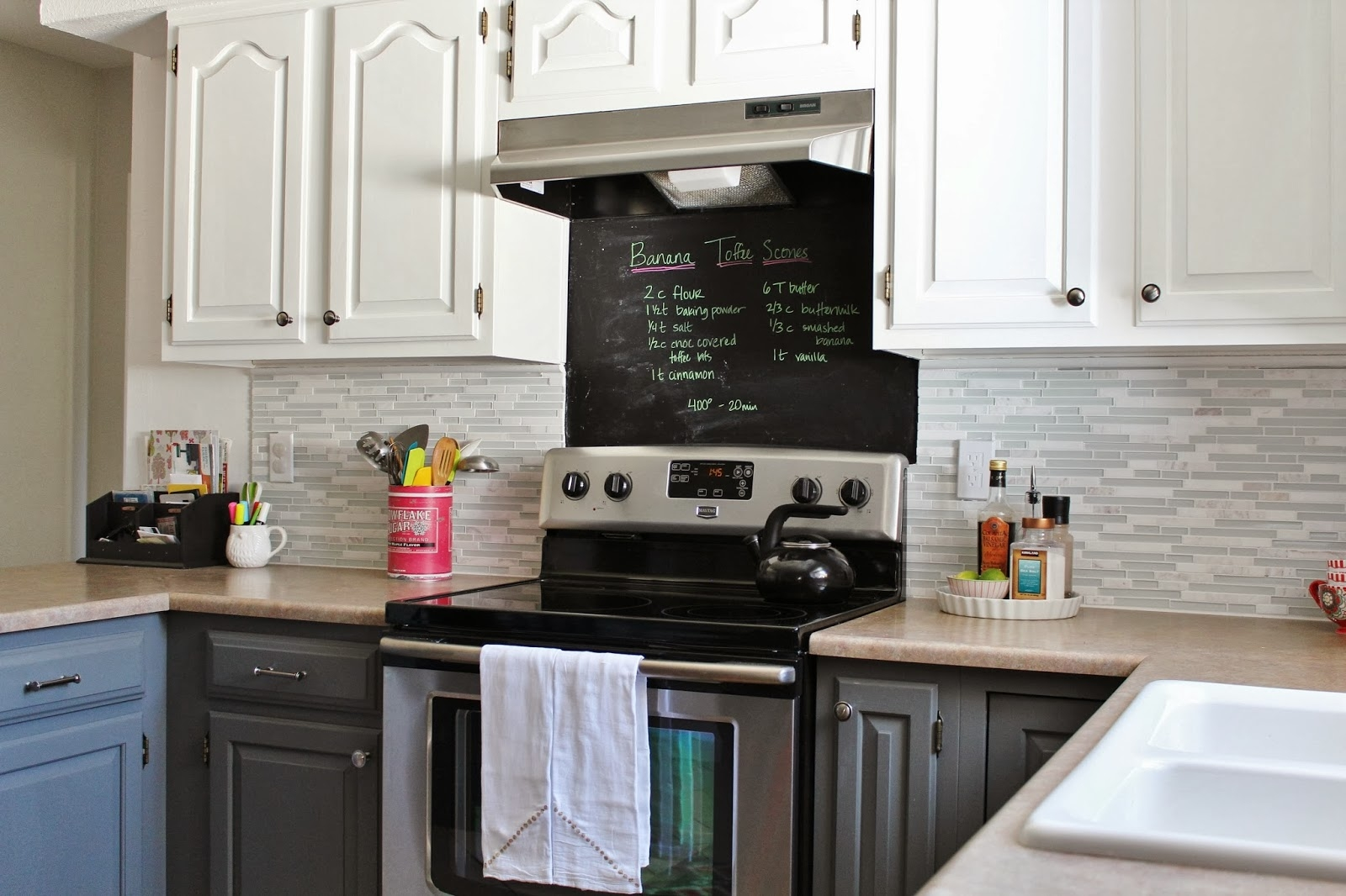 Permalink to Backsplash For Gray Kitchen Cabinets