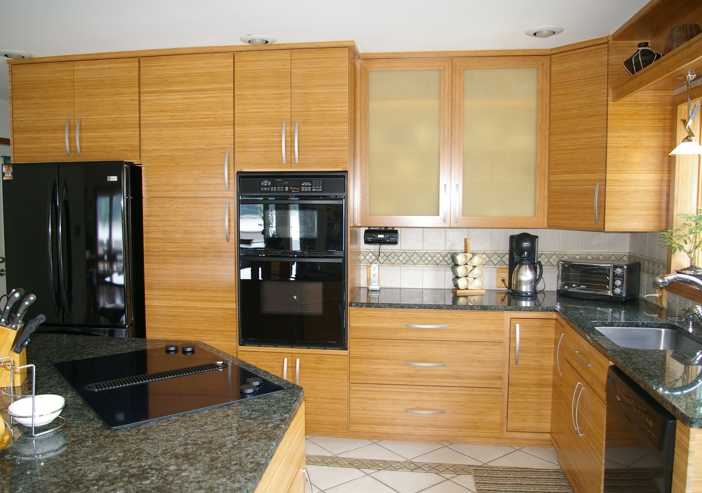 Bamboo Kitchen Cabinets Images