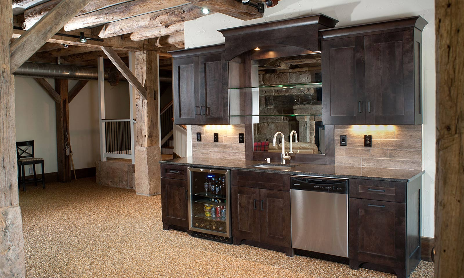 Basement Bar Kitchen Cabinets1600 X 960