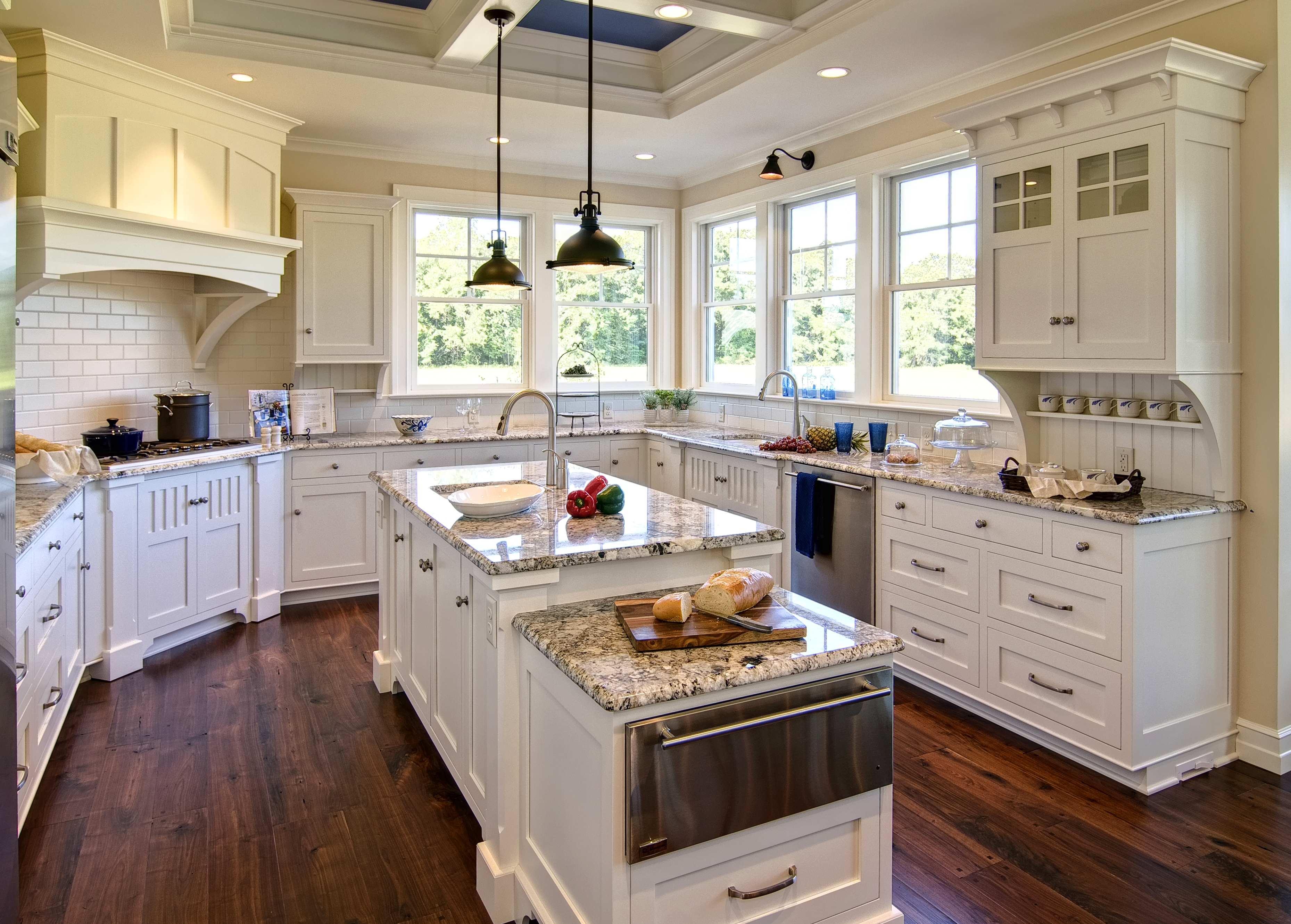 Beach House Kitchen Cabinet Colors
