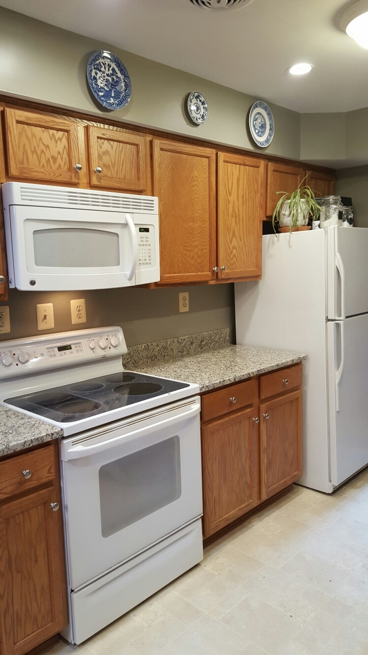 Best Color For Kitchen Cabinets With White Appliances