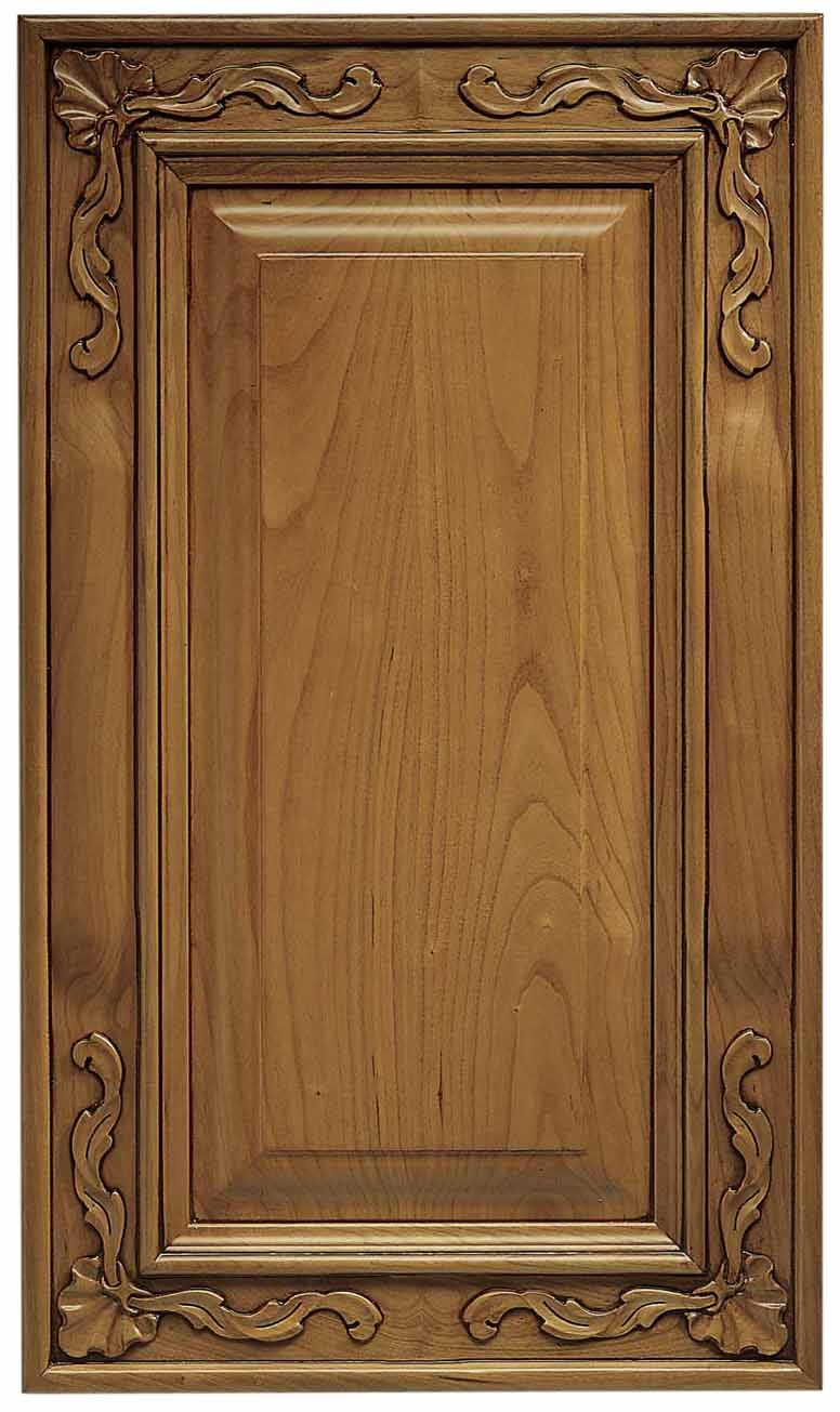 Carved Wood Kitchen Cabinet Doors