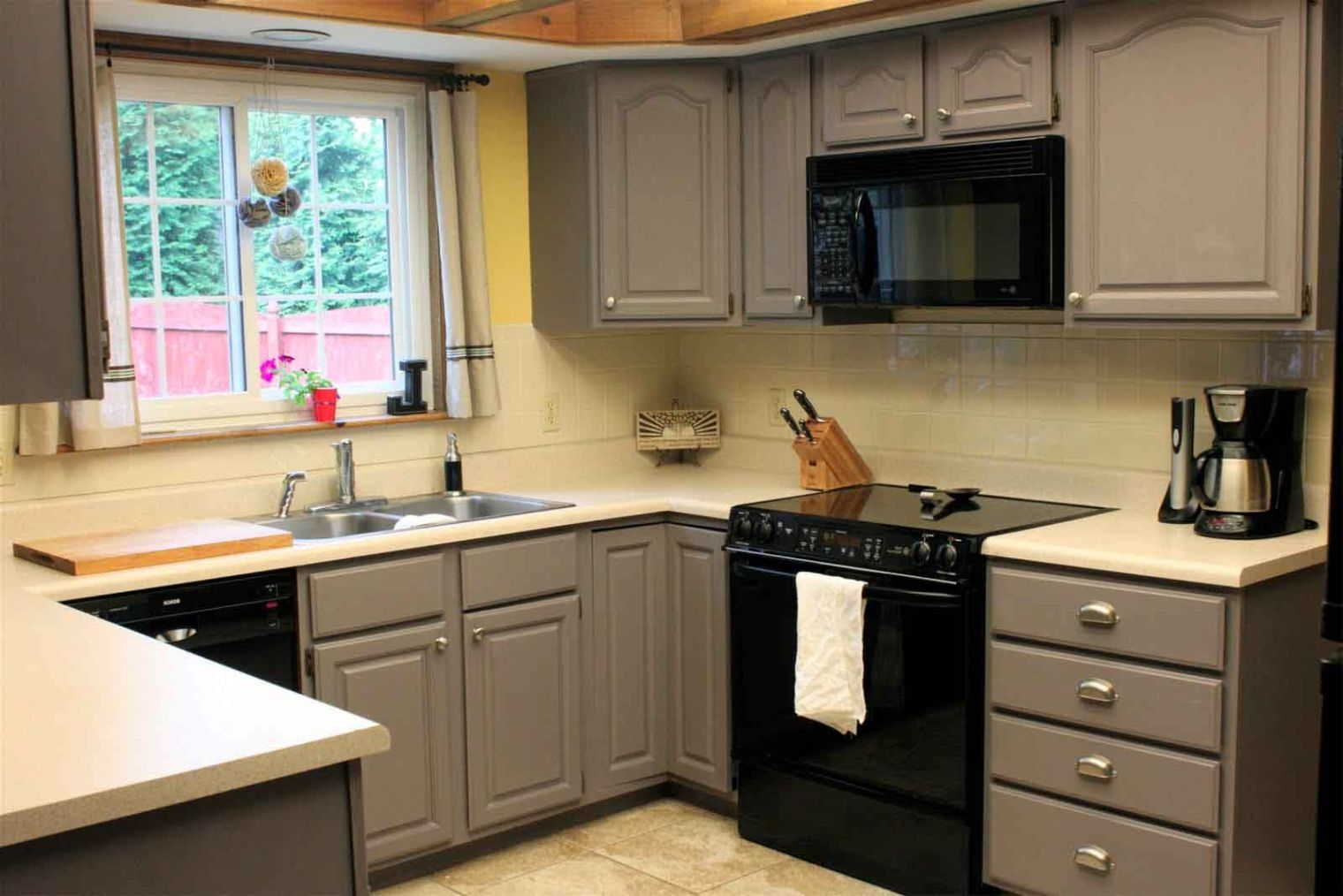 Cathedral Gray Kitchen Cabinets