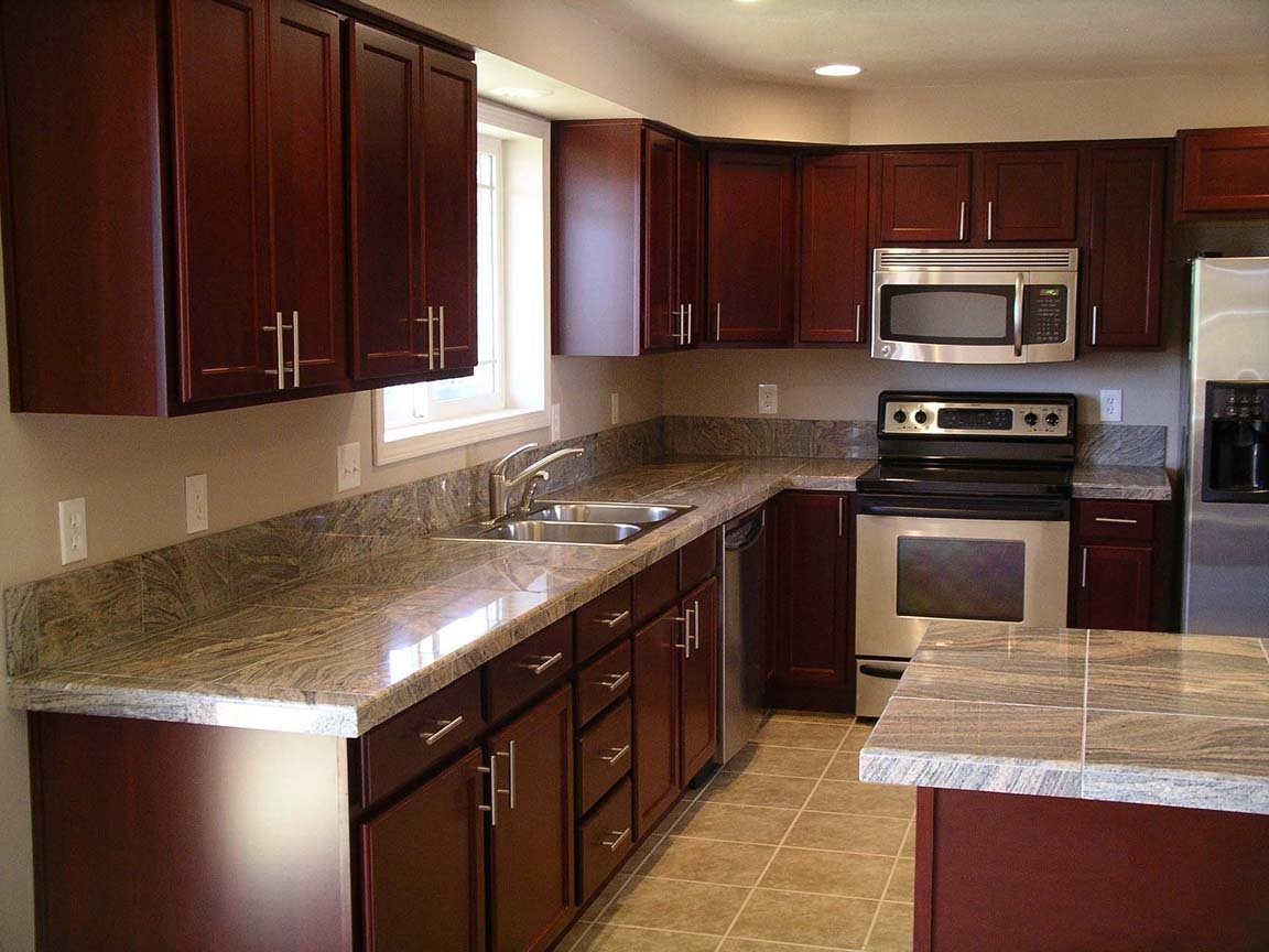 Cherry Cabinet Kitchen Images