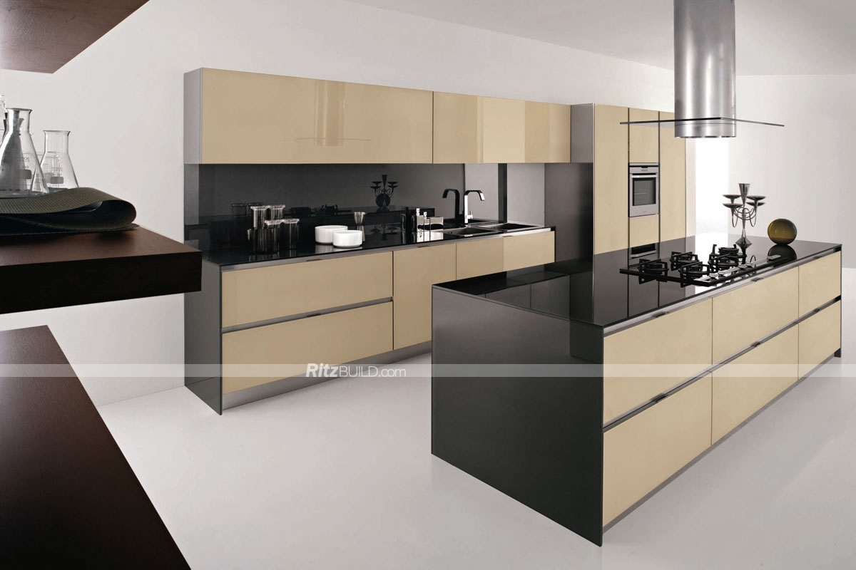 Coffee Coloured Kitchen Cabinets