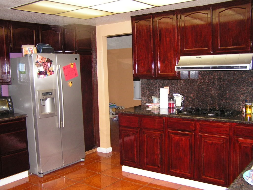 Color Stains For Kitchen Cabinets